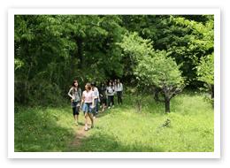 3.自然豊かなキャンパス